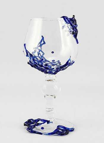 Glass's Half Full/Cob... by  Jacqueline Mc Kinny - Masterpiece Online