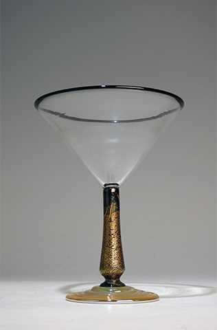 Martini/Black & Gold ... by  Alex Brand - Masterpiece Online