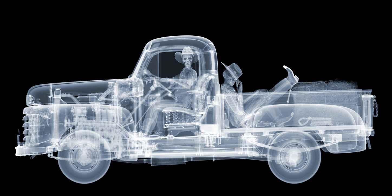 Mercury Pick Up Truck... by  Nick Veasey - Masterpiece Online
