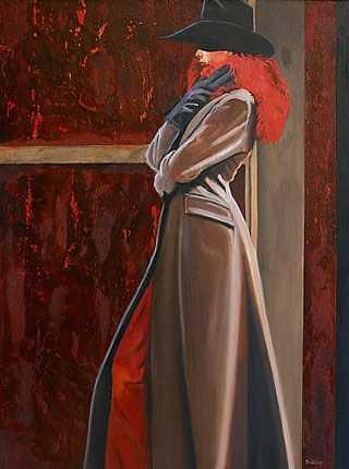 Red Boa by  David DeVary - Masterpiece Online