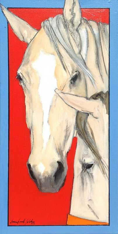 Horse Study I by  Donna Howell-Sickles - Masterpiece Online