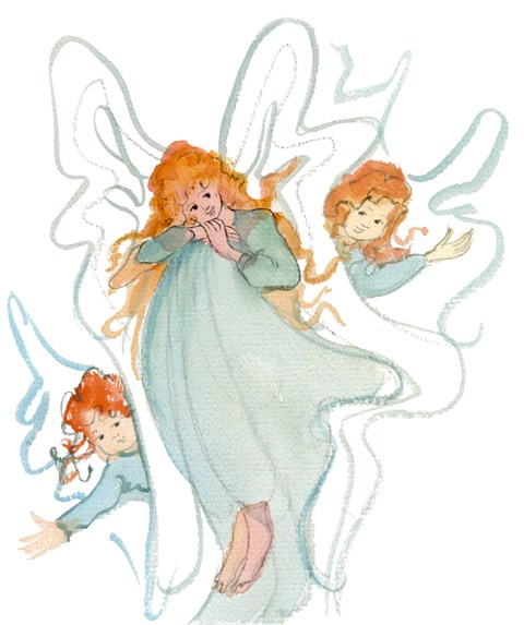 DP-OUR LITTLE ANGELS by  P. Buckley Moss  - Masterpiece Online