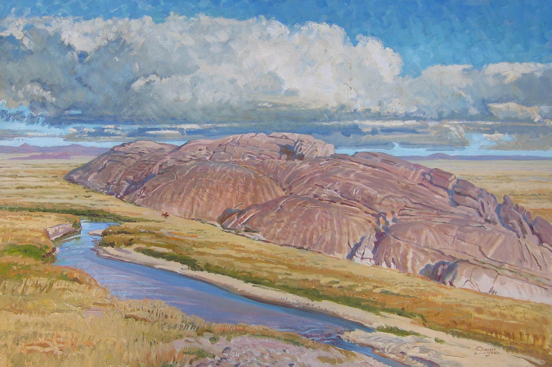 Independence Rock - N... by  Robert Lougheed - Masterpiece Online