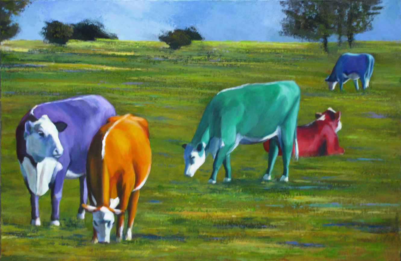 Party in the Pasture by MS Julia Lucich - Masterpiece Online