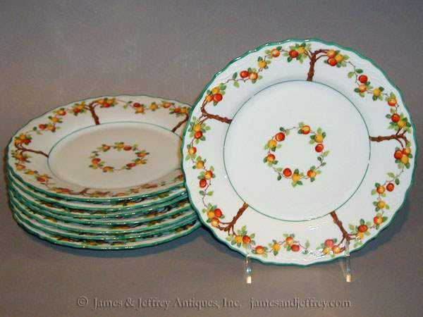 Set of Eight Plates by  American  - Masterpiece Online