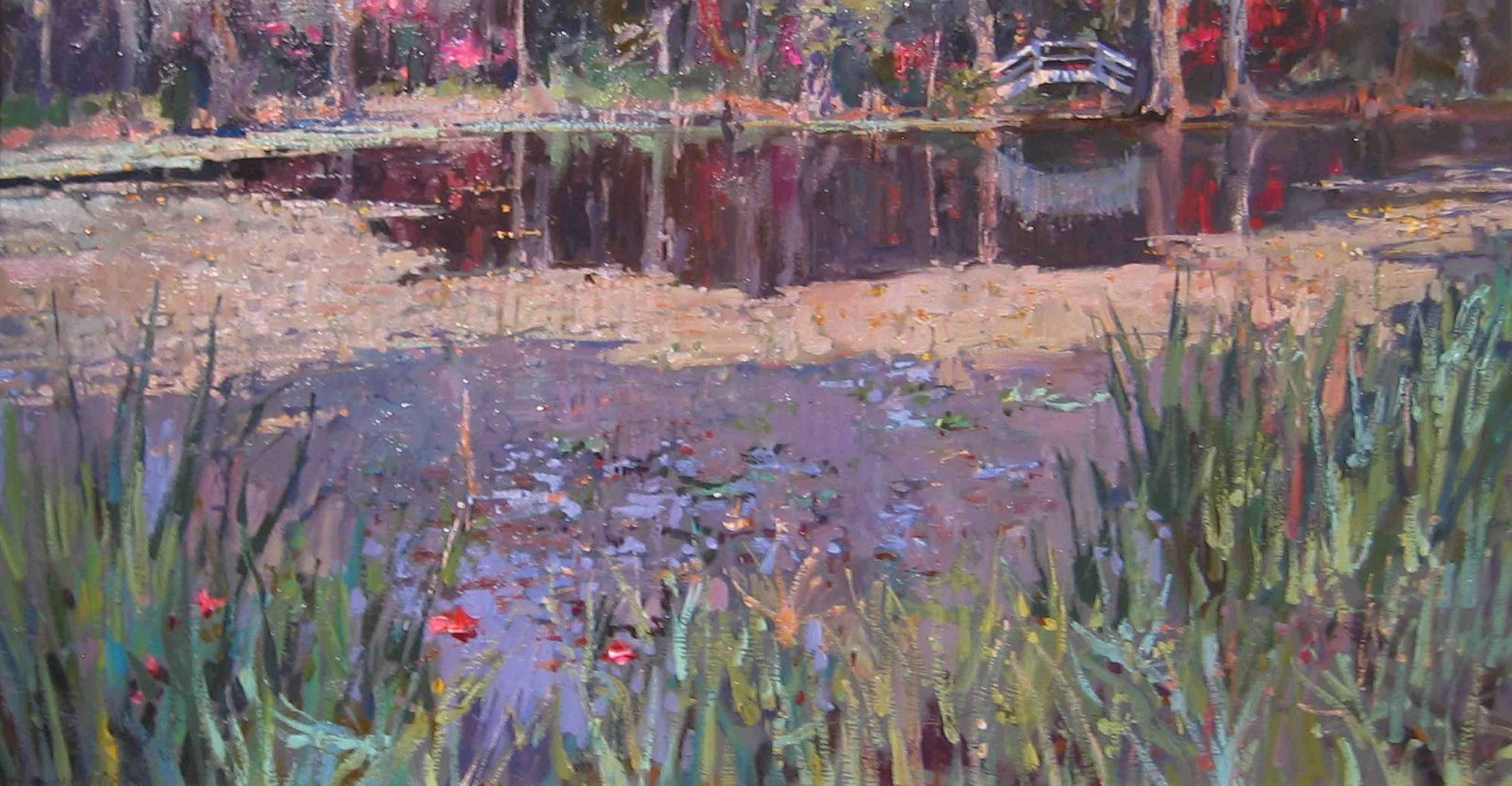 Magnolia Gardens, Bri... by  Daud Akhriev - Masterpiece Online