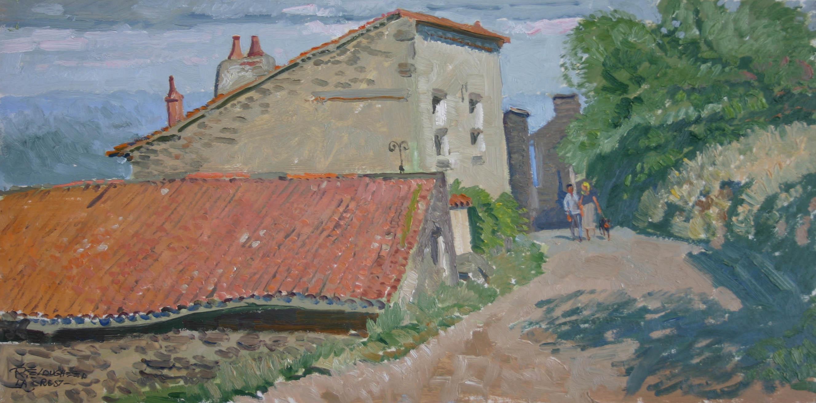 France - La Crest (re... by  Robert Lougheed - Masterpiece Online