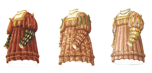 Three Costumes