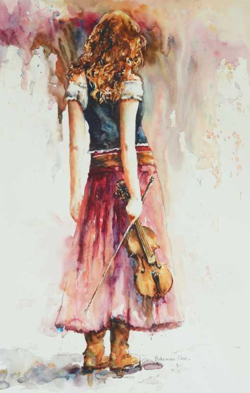 Bohemian Chic by  Bev Jozwiak - Masterpiece Online