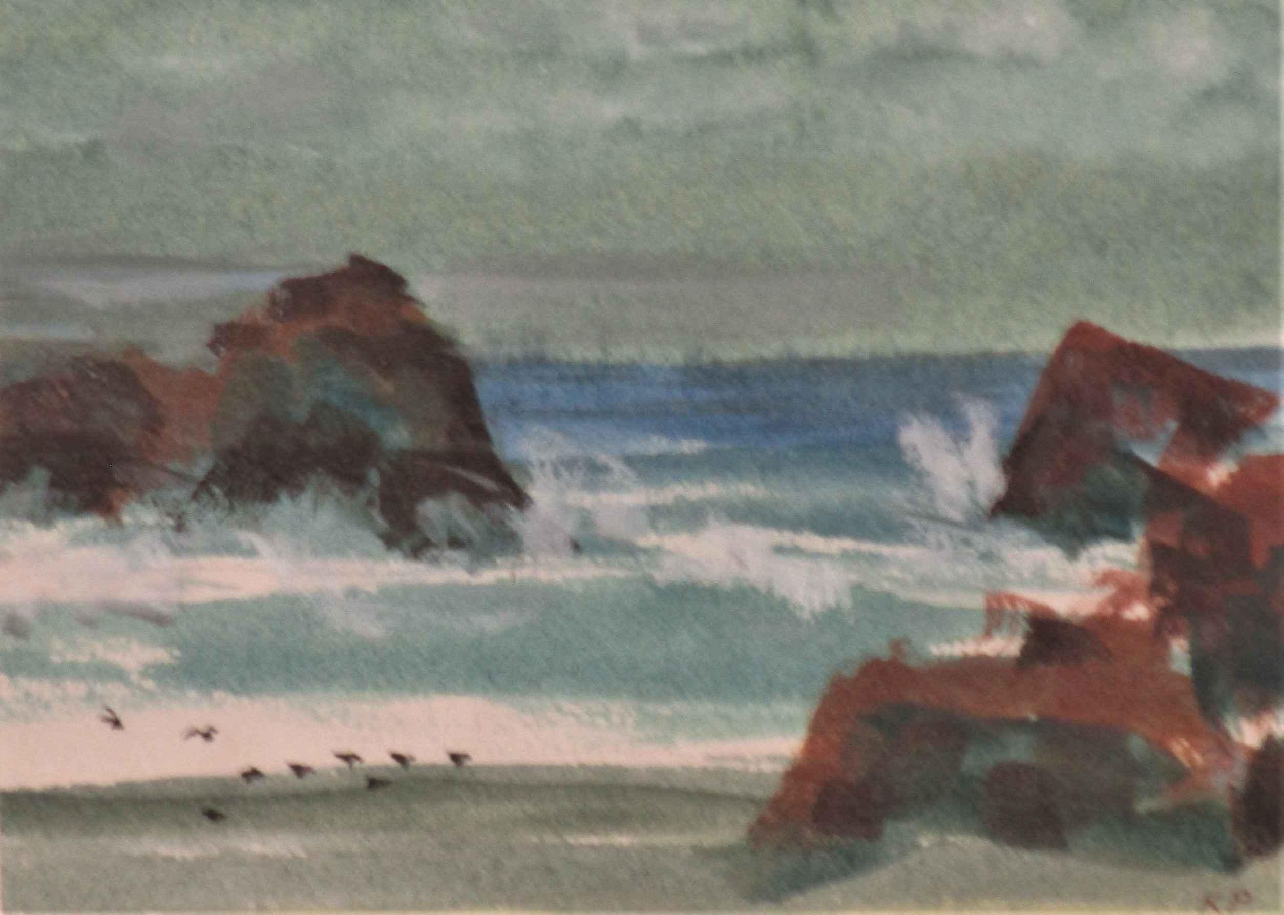 Unknown ( Beachscape) by  Ken Patecky - Masterpiece Online