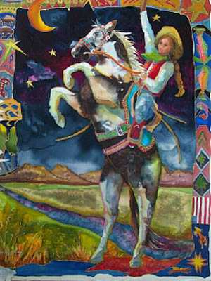 Maizie and Thunder by MS Nancy Dunlop Cawdrey - Masterpiece Online