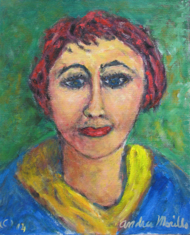 Woman with Red Hair
