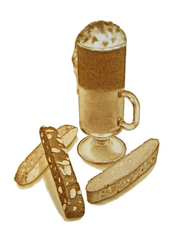 Biscotti Mocha by  Joel Carlson - Masterpiece Online
