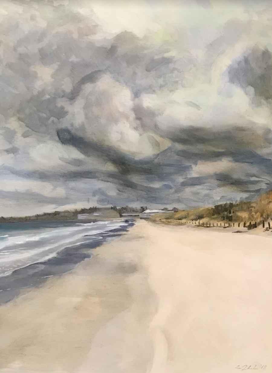 Grey Day Ogunquit by  Cynthia Woehrle - Masterpiece Online