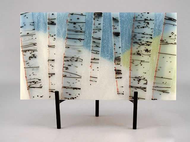 Winter Aspens by  Stephanie Fluke - Masterpiece Online