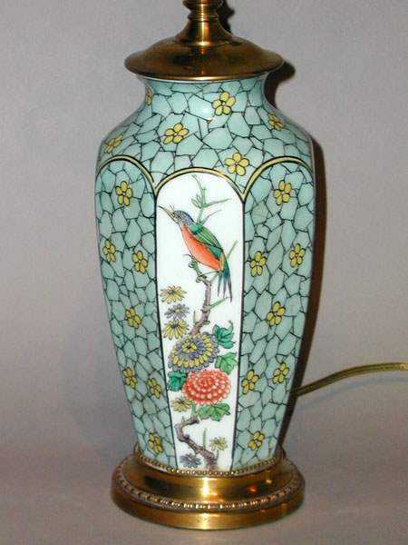 Chinese Vase Lamp by  Chinese  - Masterpiece Online