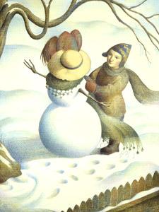 Building Snow Lady