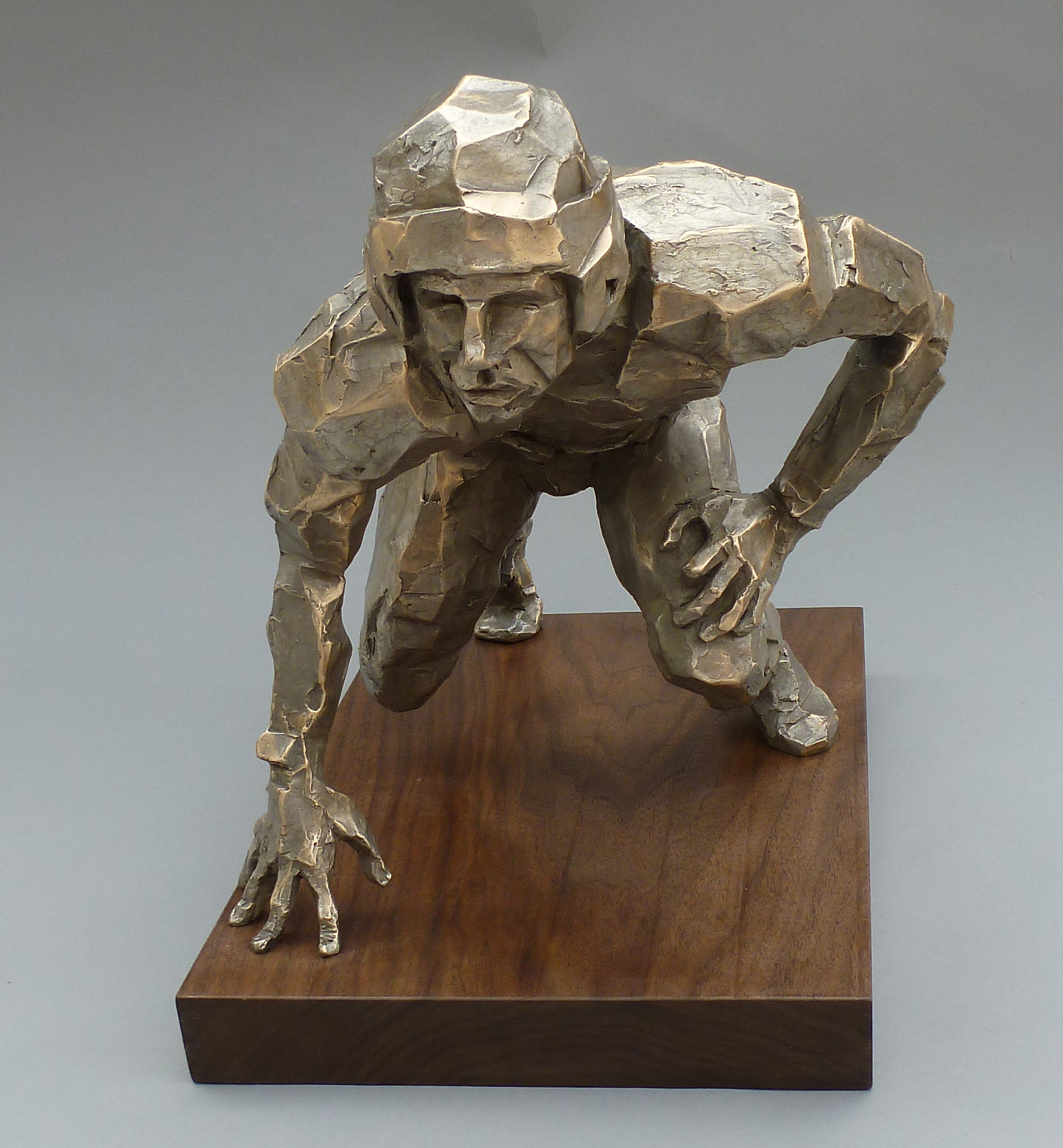 Front Line, Lineman by Mrs. Gail Folwell - Masterpiece Online