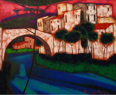L'Arbre et le Pont by  Roger Bonafe - Masterpiece Online