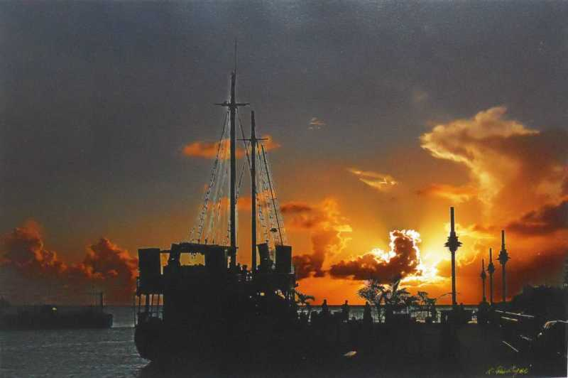 Glorious Sunset by Mr Timothy Quintyne - Masterpiece Online