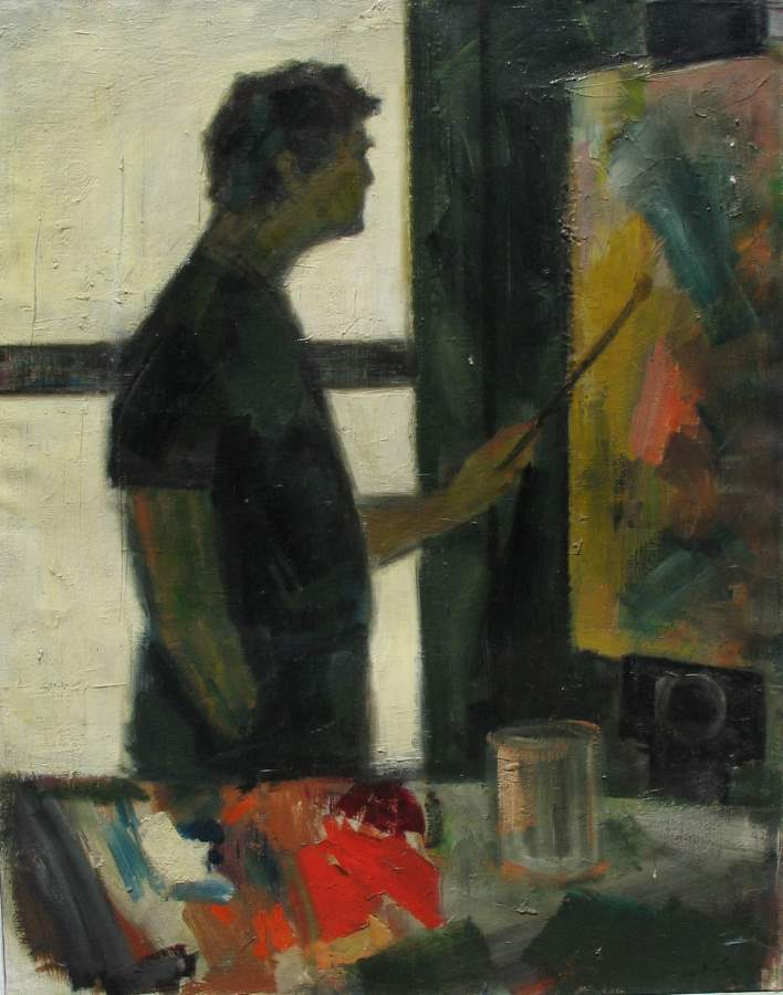Self Portrait with Or... by  Tom Maley - Masterpiece Online