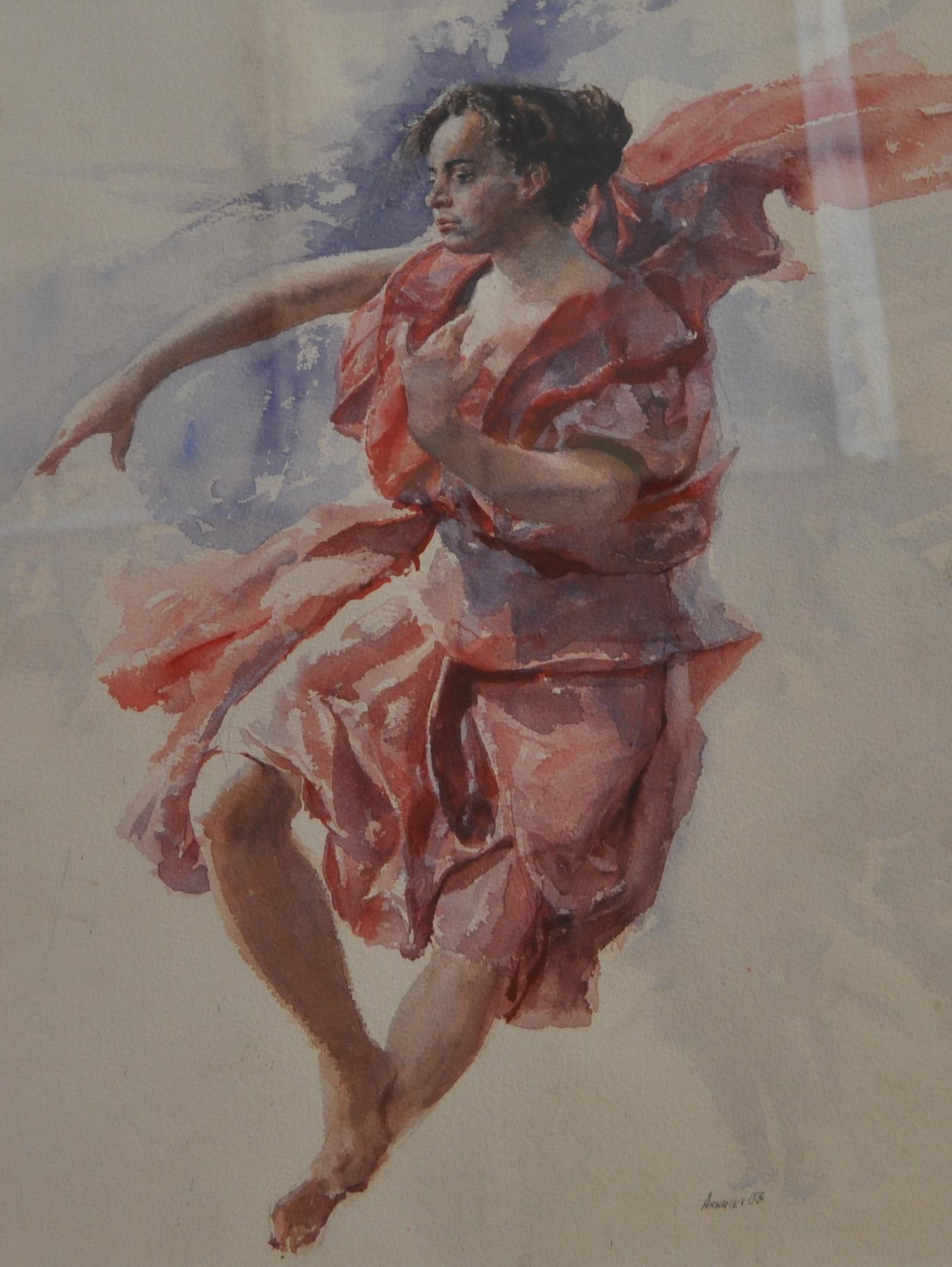 Angel in Red by  Daud Akhriev - Masterpiece Online