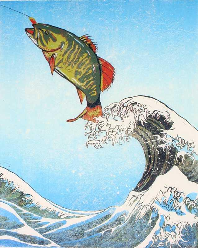 Flight Of The Bass by  Morgan Cawdrey - Masterpiece Online