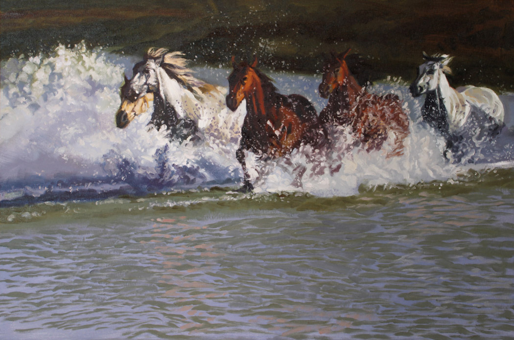 SOLD- Horse Power by  Glen Edwards - Masterpiece Online