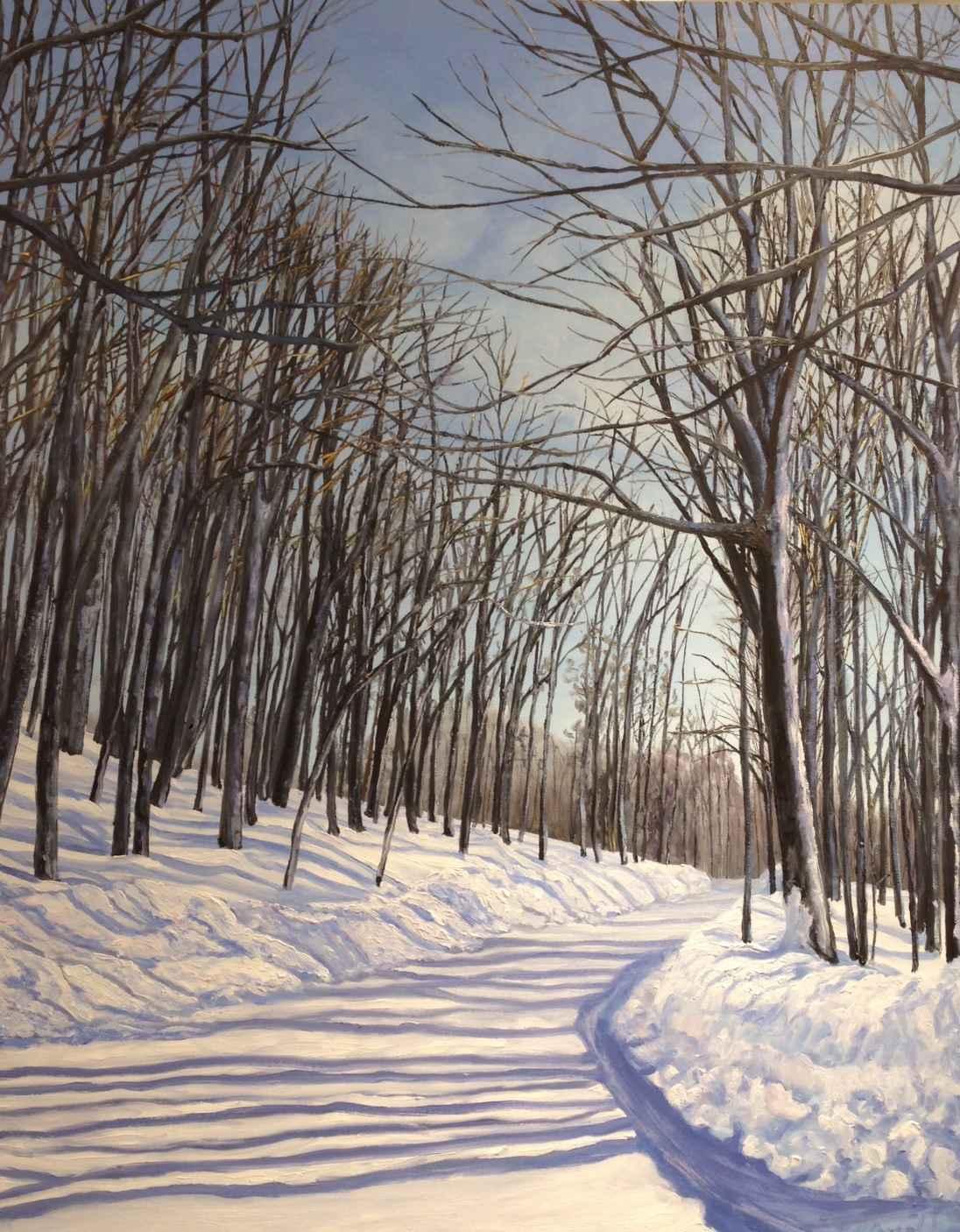 Winter Journey by Ms Debra Lynn Carroll - Masterpiece Online