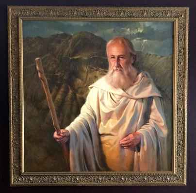 Moses by  Chuck Marshall - Masterpiece Online