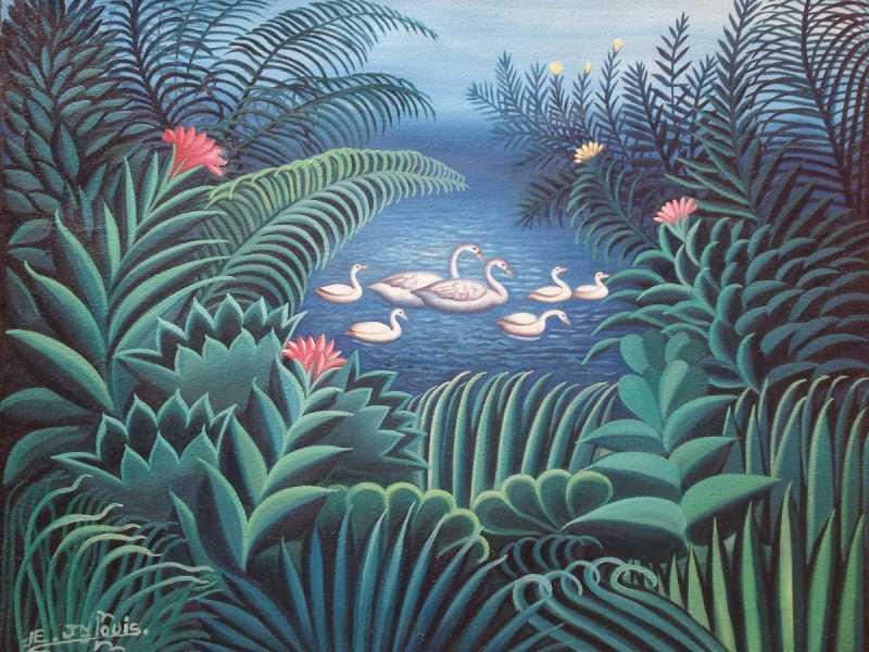 Swan Lake by  Eric JEAN LOUIS - Masterpiece Online