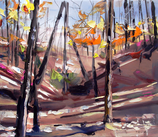 Fall at Stone Mountain by  David Shingler - Masterpiece Online