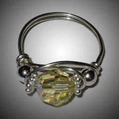 TA5797 Bling Ring by  Terrie Allen - Masterpiece Online