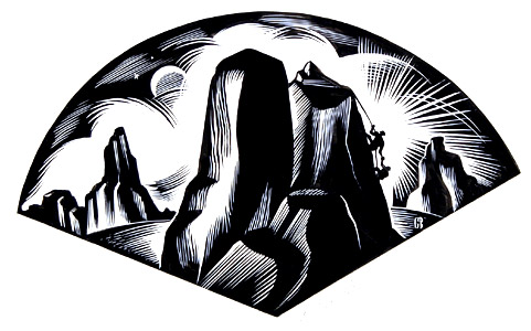 Mountain Climbers by  Cathie Bleck - Masterpiece Online