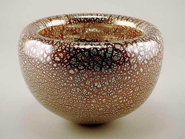 Bowl/Scarlet Silver L... by  Joy Jackson - Masterpiece Online