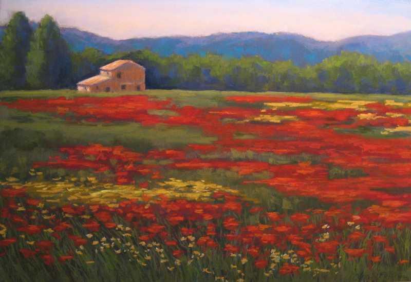 JCQ075 Poppy Field by  Joan Christopher-Quillen - Masterpiece Online