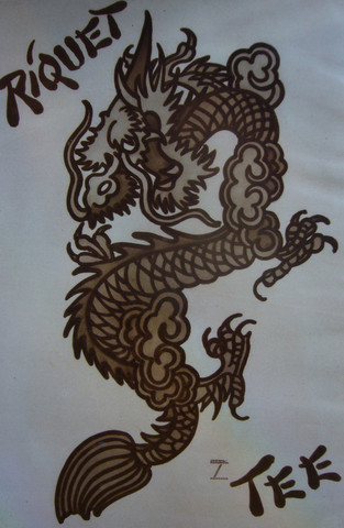 Riquet Tee, Chinese D... by  Ludwig Hohlwein - Masterpiece Online