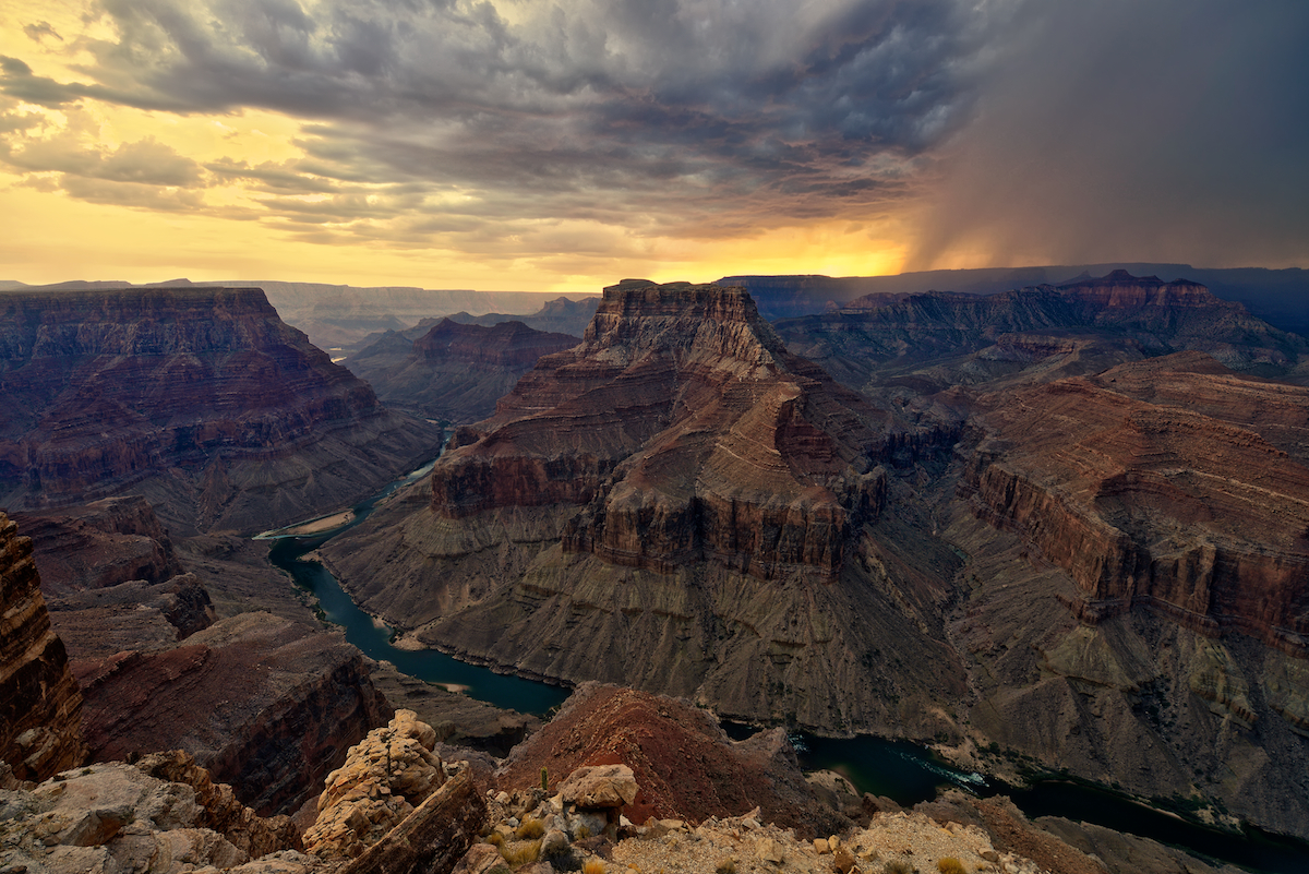 Ominous- Grand Canyon...