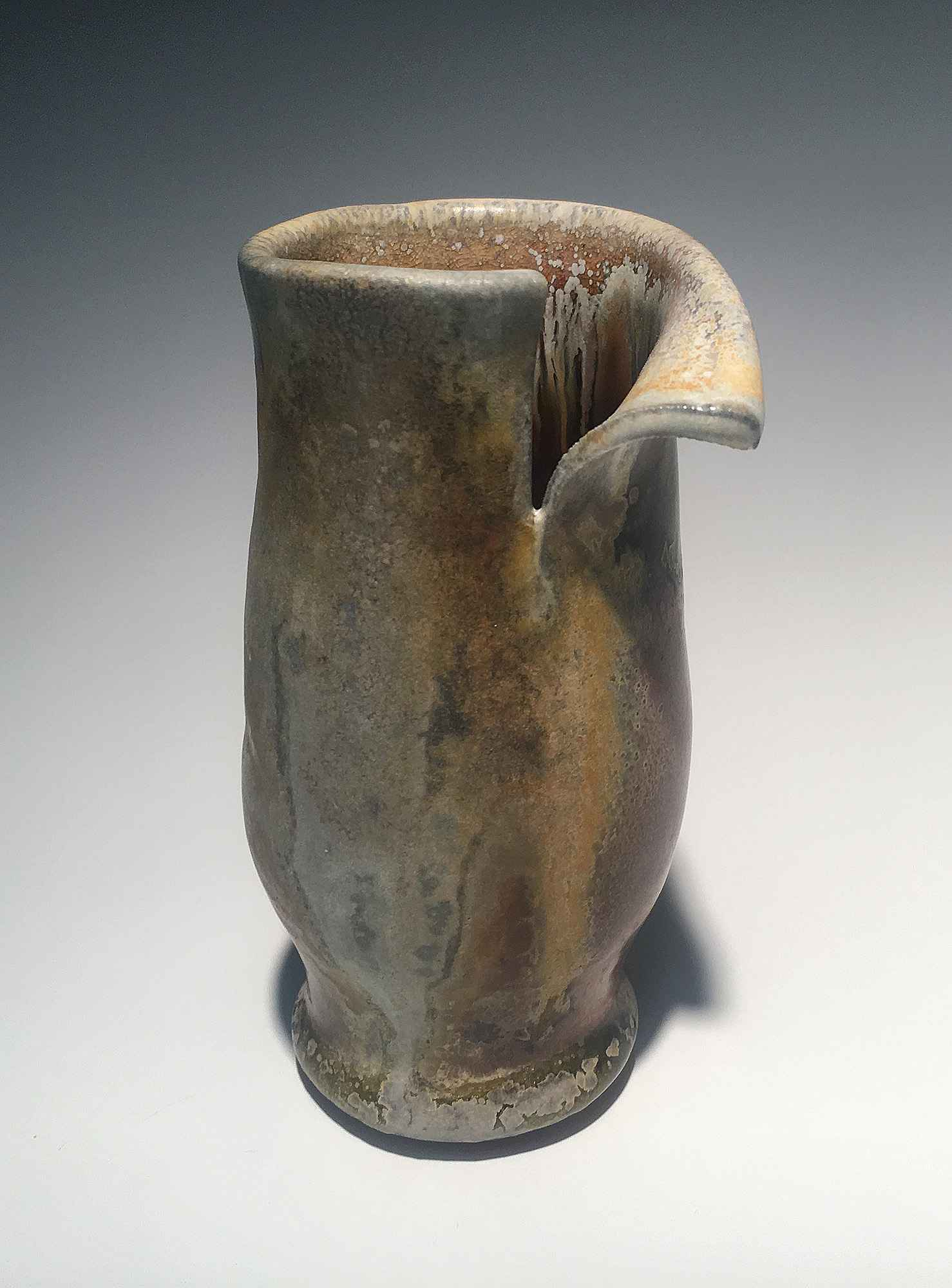 Mini Woodfired Vase by  Brian Horsch - Masterpiece Online