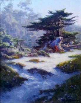 Misty Light of Morning by  Sally  Jordan - Masterpiece Online