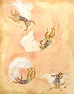 I Twist And Flip In M... by  Marjorie Priceman - Masterpiece Online