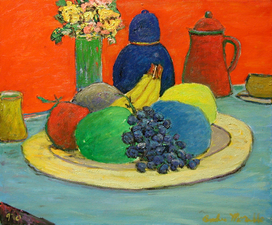 Table with Fruit by  Andres  Morillo - Masterpiece Online