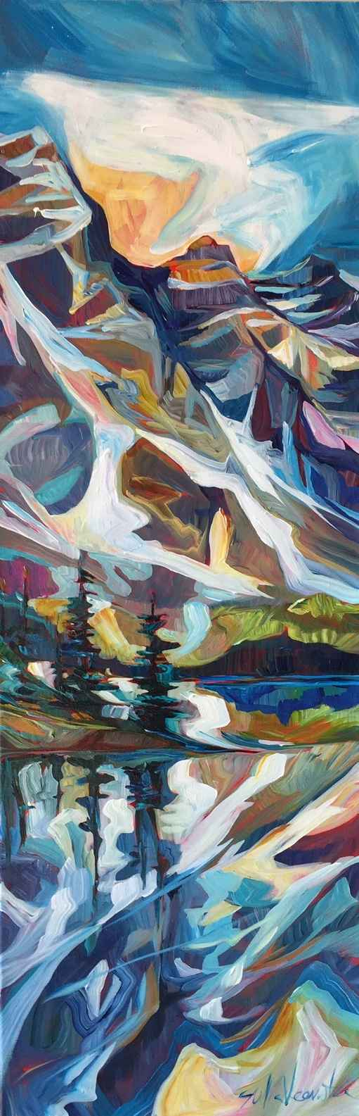 A Slice of Moraine by  Julia Veenstra - Masterpiece Online