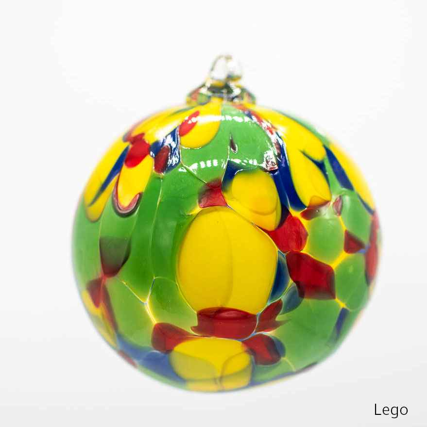Lego Standard Orb  by  Albo Glass 259