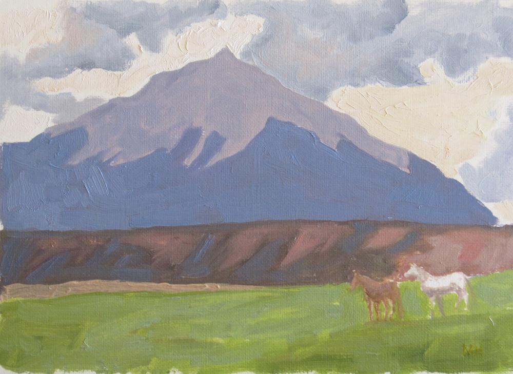 Mountain Ponies by  Melissa Hefferlin - Masterpiece Online