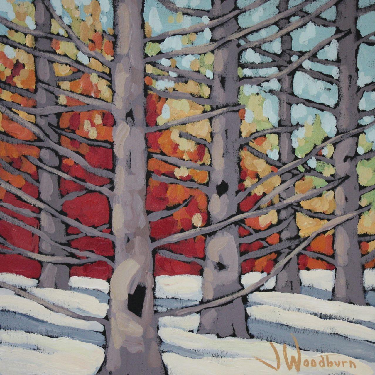 Cedar Glow (study) by Ms Jennifer Woodburn - Masterpiece Online