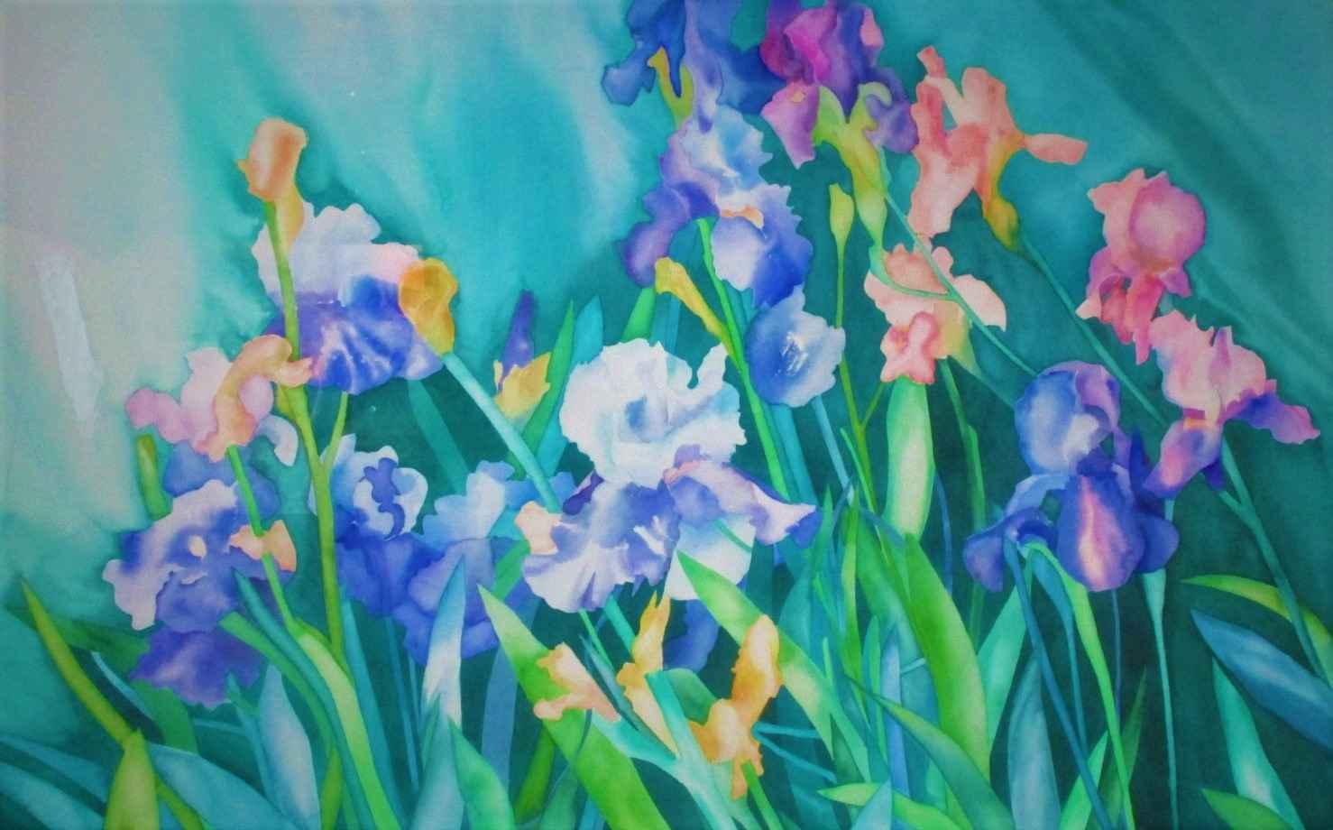 Untitled Iris by  Joan Metcalf - Masterpiece Online