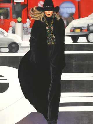 Urban Cowgirl by  David DeVary - Masterpiece Online