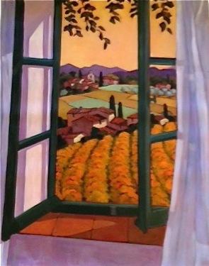 La Fenetre Ouvert by  Lorraine  Jordan - Masterpiece Online