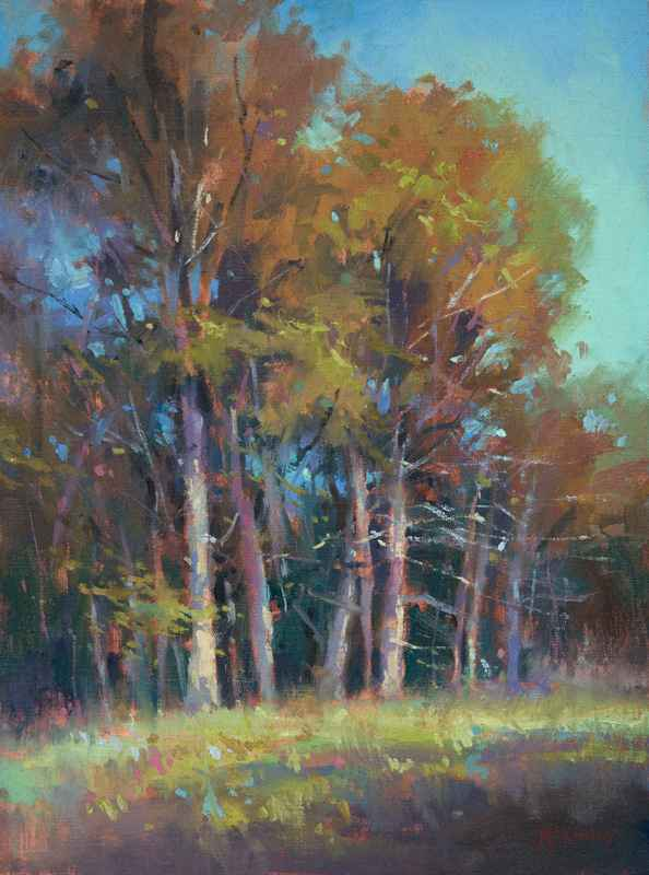 The Touch of Fall  by  Richard McKinley